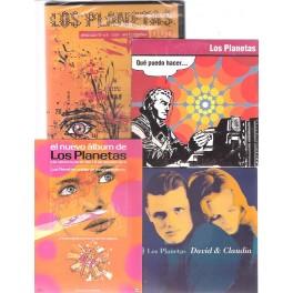 LOS PLANEETAS DVD y singles